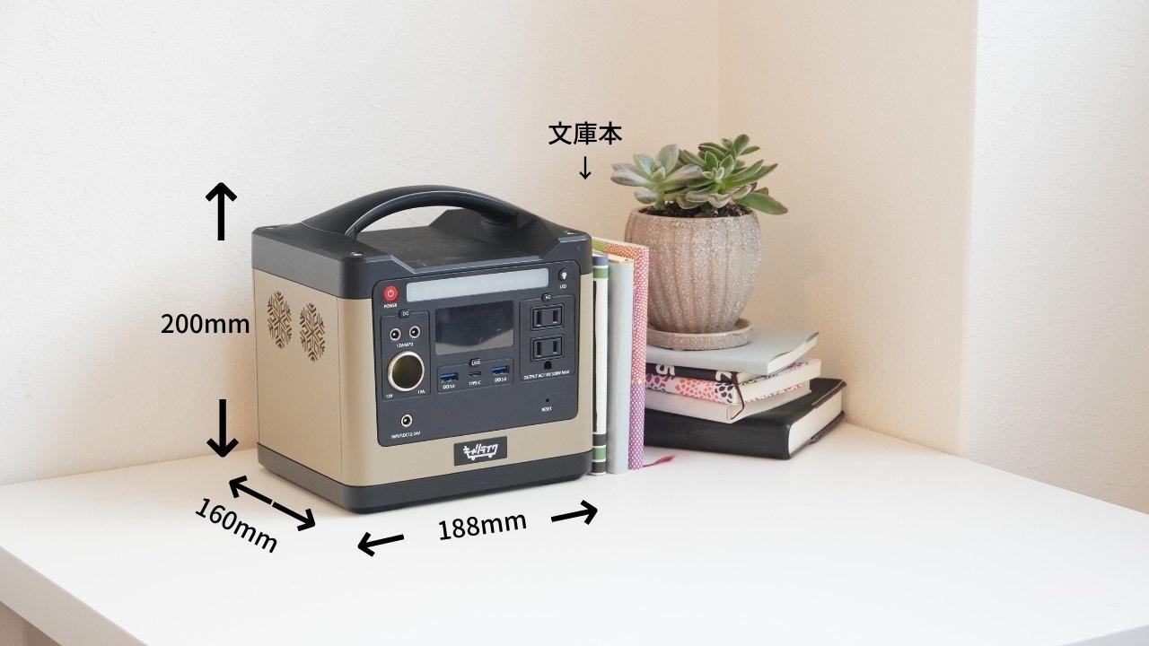 ポータブル電源miniサイズ
