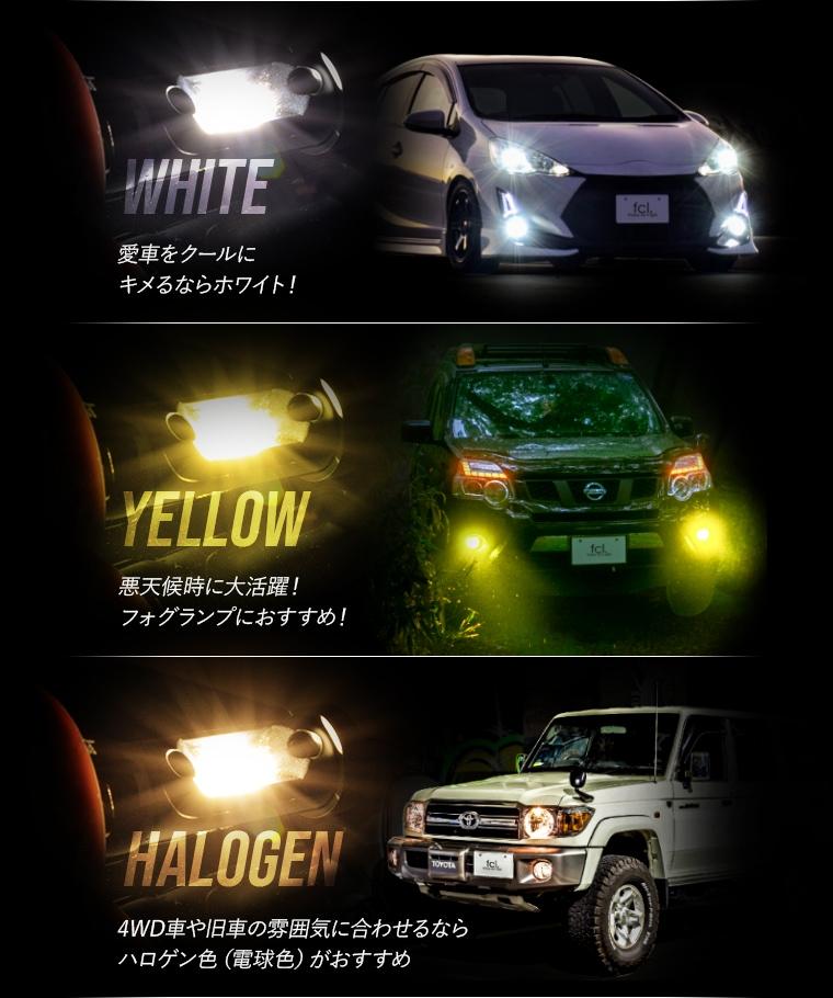 カラーは3種類から選択可能