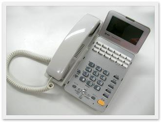 清掃後の電話機