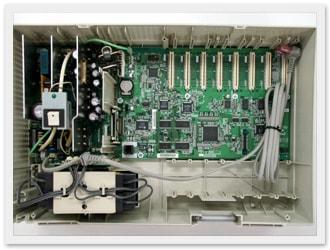 清掃後の主装置内部