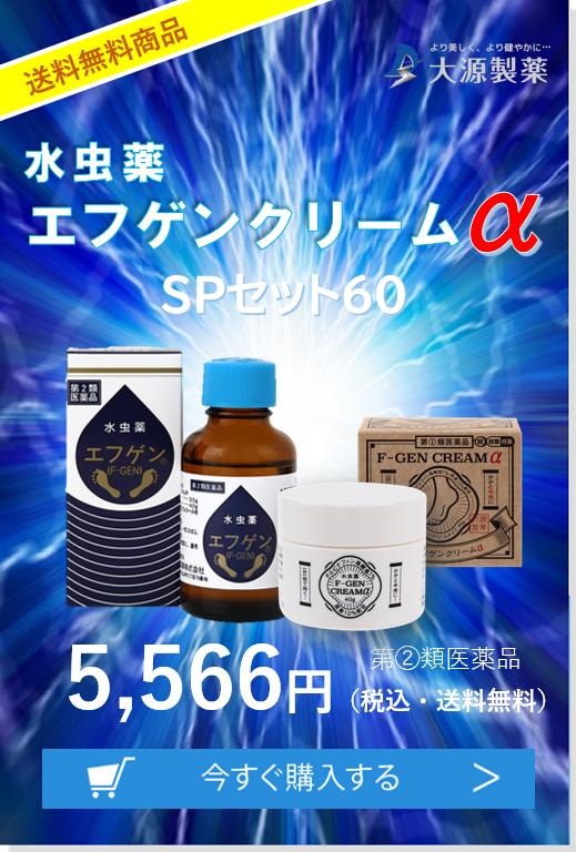 エフゲンクリームαSPセット60
