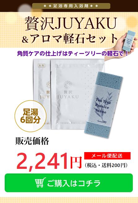 贅沢JUYAKUと軽石セット