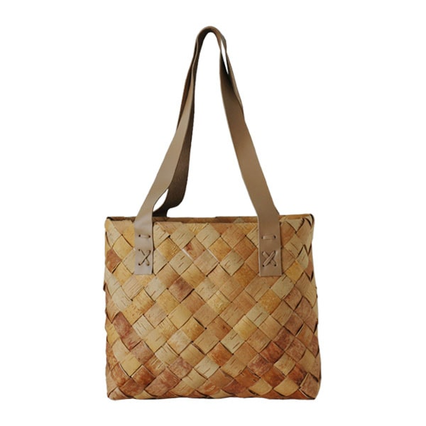 shoppingbag,ショッピングバッグ,トートバッグ,sサイズ,tuohikori,トゥオヒコリ,白樺のカゴ,nadja shop,フィンランド,北欧雑貨