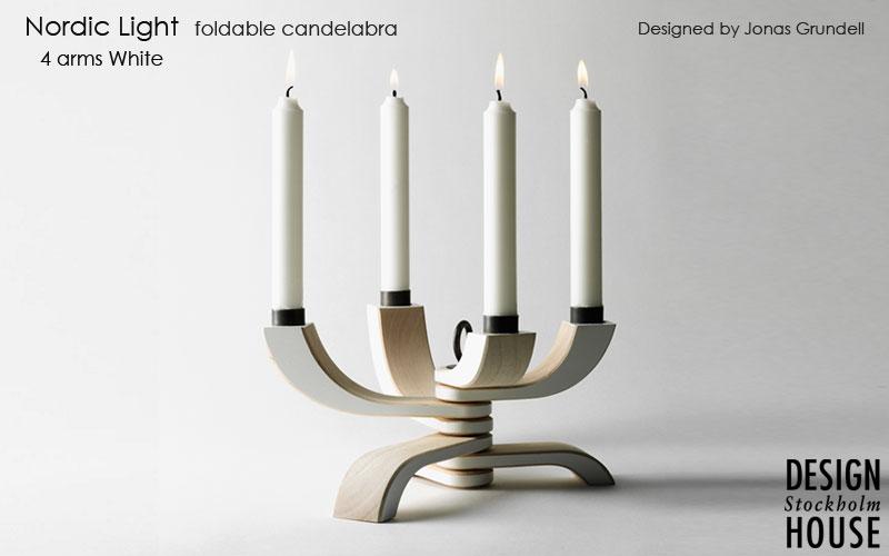 DESIGN HOUSE stockholm,デザインハウスストックホルム,Nordic Light 4arms black(ノルディックライトキャンドルホルダー),北欧スウェーデン,北欧雑貨,北欧インテリア,北欧ギフト