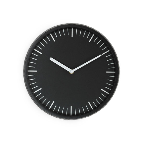 Day Wall Clock,ブラック