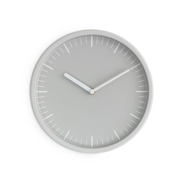 Day Wall Clock,グレー