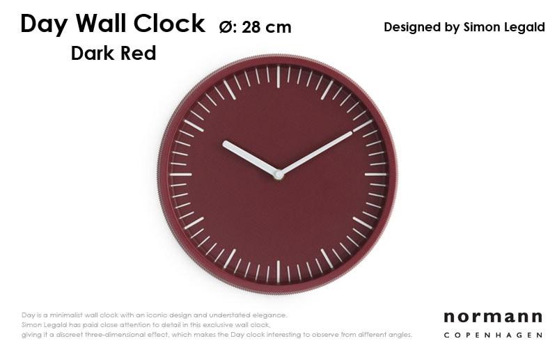 normannCOPENHAGENノーマンコペンハーゲン,day Wall Clock,デイ・ウォールクロック,北欧,デンマーク,北欧雑貨,北欧インテリア,北欧ギフト