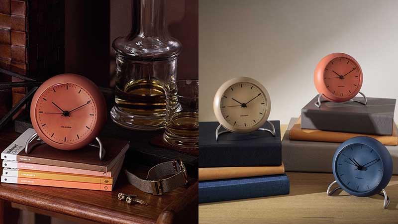 アルネヤコブセン・テーブルクロック置き時計,ローゼンダール社 コペンハーゲン,北欧雑貨,北欧インテリア北欧ギフト