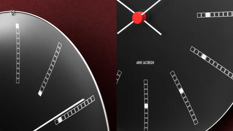 アルネヤコブセン・バンカーズ,壁掛け時計,ローゼンダール社 コペンハーゲン,北欧雑貨,北欧インテリア北欧ギフト