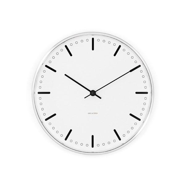 アルネヤコブセン,掛け時計,シティーホール29cm