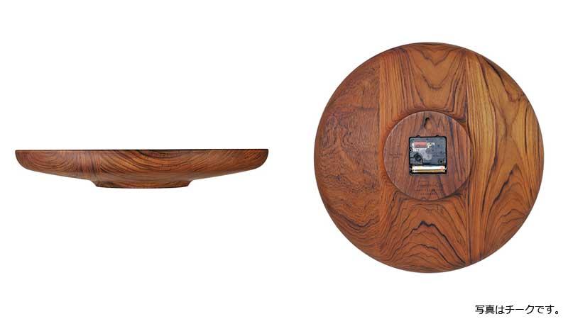 Finn Juhl,フィンユール,FJ Clock Wall Clock,ウォールクロック,掛時計,architectmadeアーキテクトメイド・デンマーク・木製オブジェ,北欧,北欧雑貨,北欧インテリア,北欧ギフト