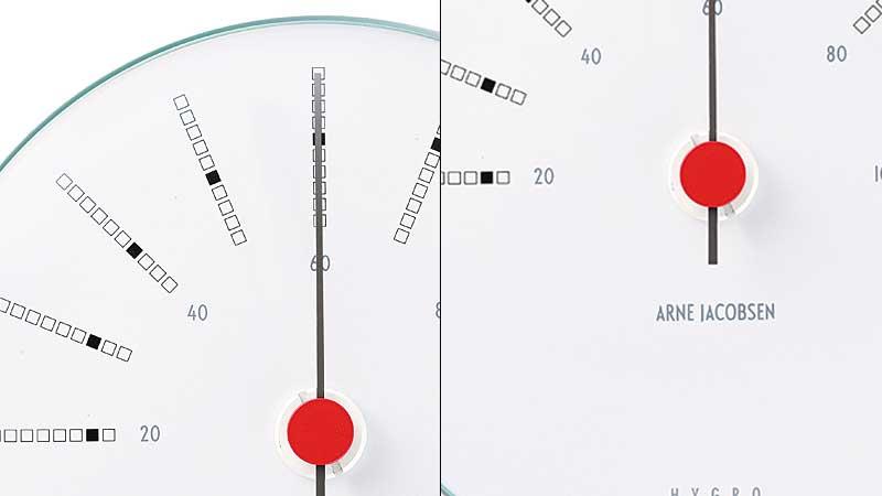 アルネヤコブセン・バンカーズ,湿度計,ローゼンダール社 コペンハーゲン,北欧雑貨,北欧インテリア北欧ギフト