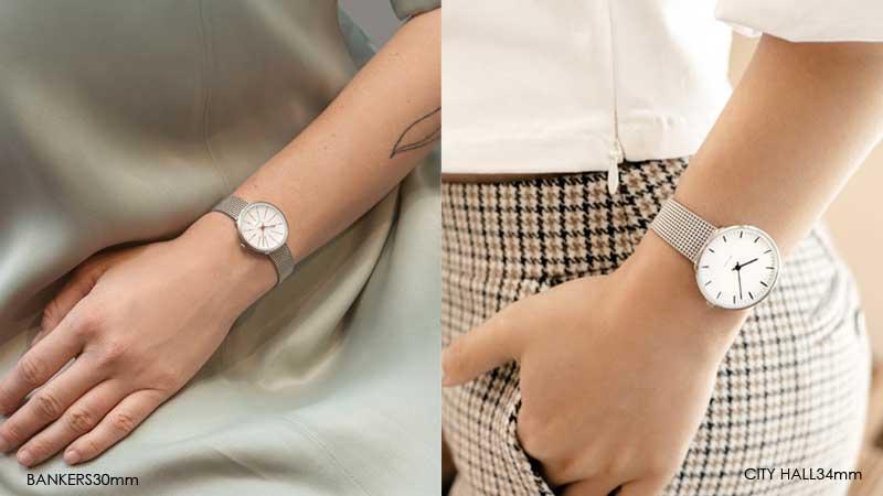アルネヤコブセン・腕時計,30mm,34mm,40mm,メッシュトラップ,北欧雑貨,北欧インテリア北欧ギフト