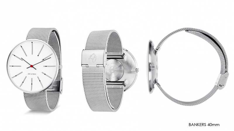 アルネヤコブセン・腕時計,30mm,34mm,40mm,メッシュストラップ,北欧雑貨,北欧インテリア北欧ギフト