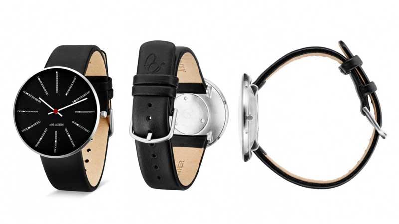 アルネヤコブセン・腕時計,40mm,レザーストラップ,北欧雑貨,北欧インテリア北欧ギフト