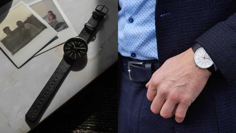 アルネヤコブセン・腕時計,30mm,34mm,40mm,レザーストラップ,北欧雑貨,北欧インテリア北欧ギフト