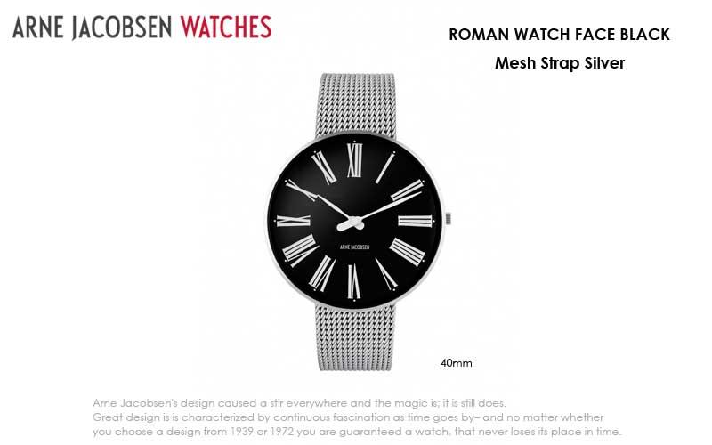 アルネヤコブセン・腕時計,ROMAN,ローマン,ARNE JACOBSEN Watchs ,北欧雑貨,北欧インテリア北欧ギフト
