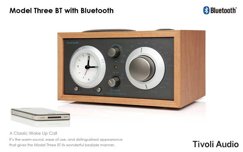 Tivoli Audio(チボリ・オーディオ)のModel Three(モデル・スリー)