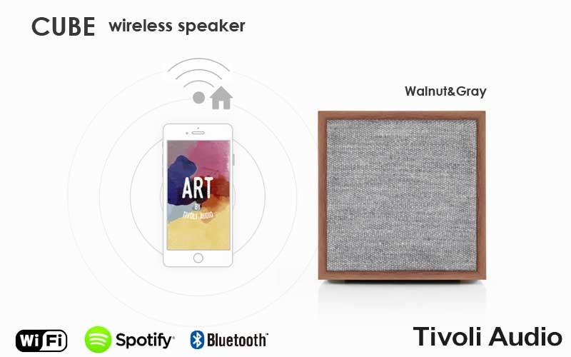 Tivoli Audio,チボリオーディオ,cube,キューブ,ワイヤレススピーカー