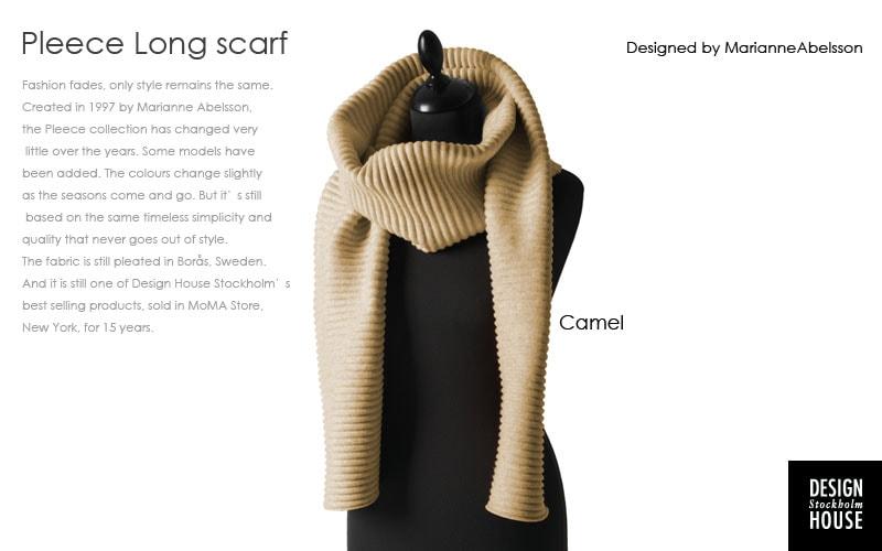 pleece long scarf,プリース,ロングスカーフ,マフラー,design house stockholm,デザインハウスストックホルム