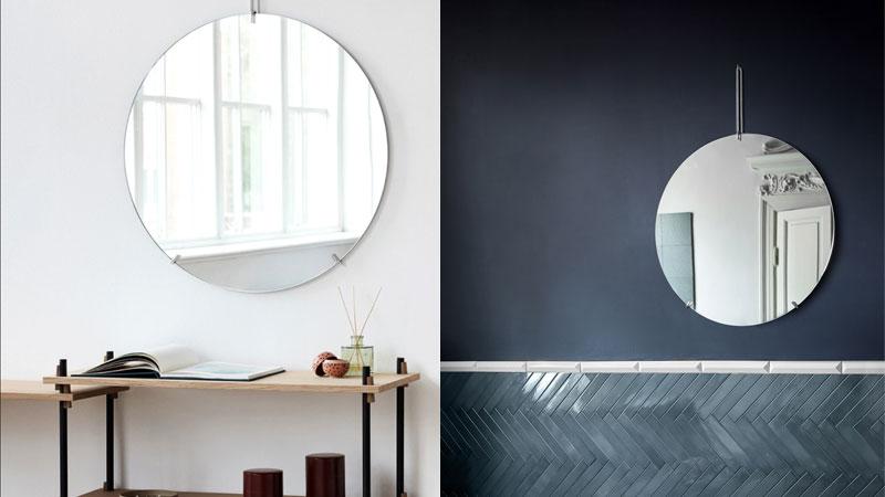 Wall Mirror,ウォールミラ-,ブラック,壁掛けミラー,MOEBE,ムーベ,北欧,デンマーク,北欧雑貨,北欧インテリア,北欧ギフト