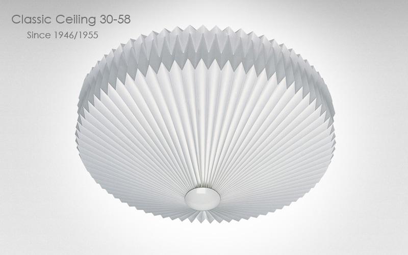 le klint,レ・クリント,classic ceiling30,クラシックシーリング,天井照明,スモールサイズ,58cm,北欧シーリングライト,北欧デザイナーズ照明