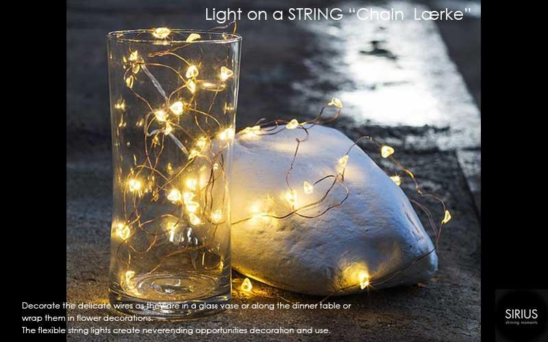 Chain,larch,カラマツ,Lærke,LEDイルミネーションライト,Sirius(シリウス),デンマーク,クリスマスライト,led,green energy
