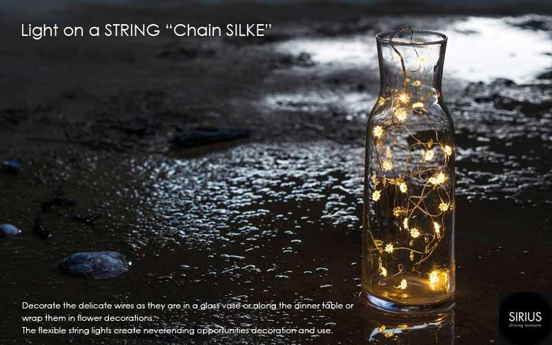 Chain,SILKE,LEDイルミネーションライト,Sirius(シリウス),デンマーク,クリスマスライト,led,green energy