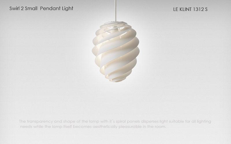 le klint,レ・クリント,Swirl(スワール)2,スモールサイズ,北欧ペンダントライト,北欧デザイナーズ照明