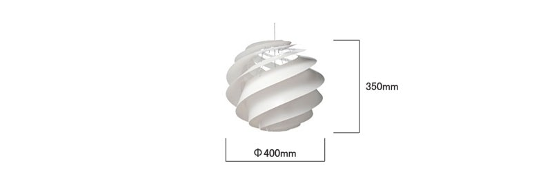 le klint,レ・クリント,Swirl(スワール)3,スモールサイズ,北欧ペンダントライト,北欧デザイナーズ照明