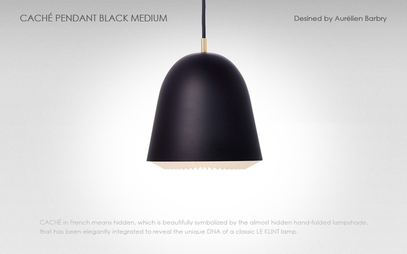LE KLINT(レ クリント),CACHE(キャシェ)ミディアムサイズ,北欧ペンダントライト,デザイナーズ照明,北欧インテリア,デンマーク