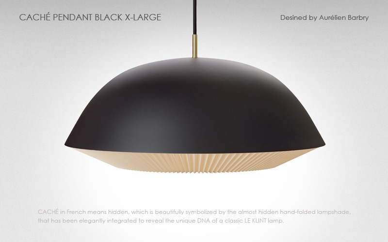 LE KLINT(レ クリント),CACHE(キャシェ)Xラージサイズ,北欧ペンダントライト,デザイナーズ照明,北欧インテリア,デンマーク