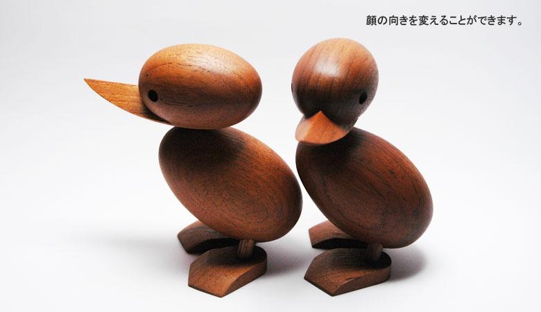 Ducklingダックリングは顔の向きを変えたり出来ます