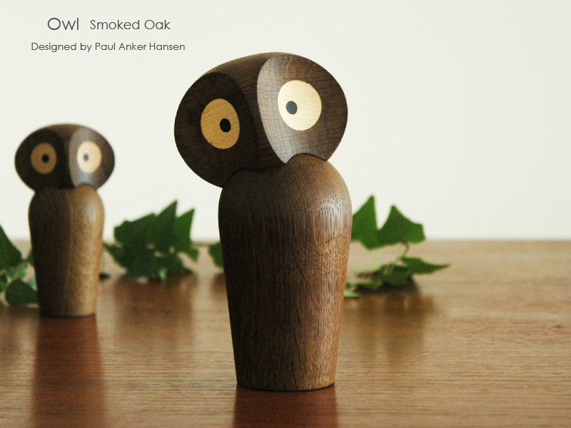 owl,アウル,フクロウ,paulankerhansen,ポールアンカーハンセン,デンマーク木製オブジェ,architrectmade,オブジェ,置物,北欧雑貨,北欧インテリア,北欧ギフト