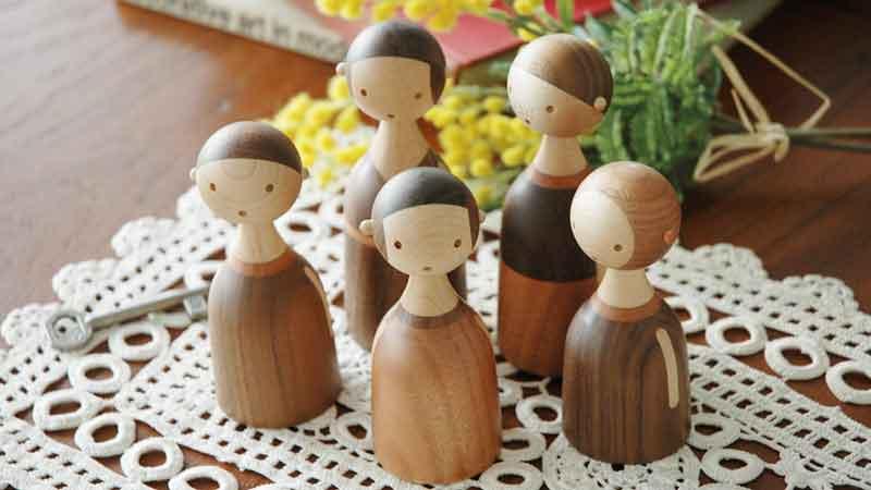kin,dad,Lars Baller Fjetland,デンマーク木製オブジェ,architrectmade,アーキテクトメイド