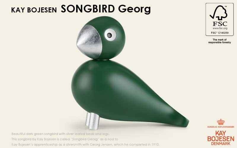 song bird,ソングバード,georg,ジョージ, Kay Bojesen,カイ・ボイスン,木製オブジェ ,デンマーク,北欧,北欧雑貨,北欧インテリア,北欧ギフト