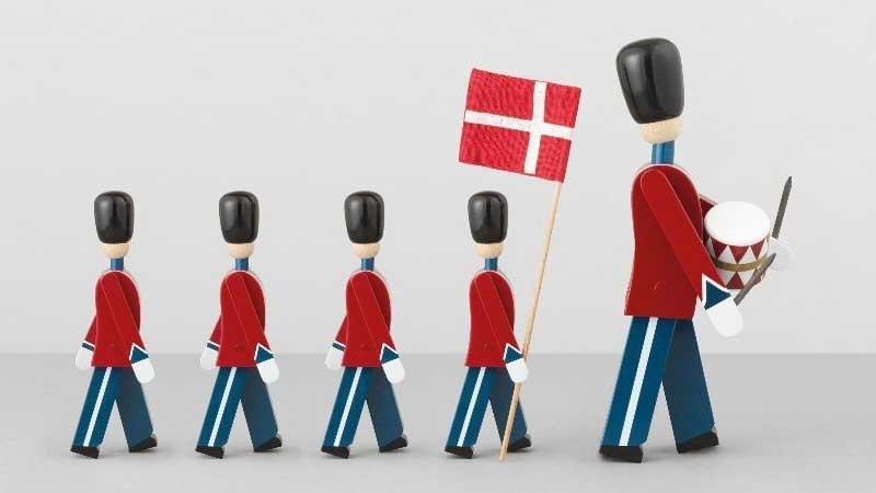 DRUMMER,衛兵,Kay Bojesen,カイ・ボイスン,木製オブジェ ,デンマーク,北欧,北欧雑貨,北欧インテリア,北欧ギフト