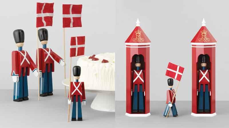 旗持ち,衛兵,Kay Bojesen,カイ・ボイスン,木製オブジェ ,デンマーク,北欧,北欧雑貨,北欧インテリア,北欧ギフト