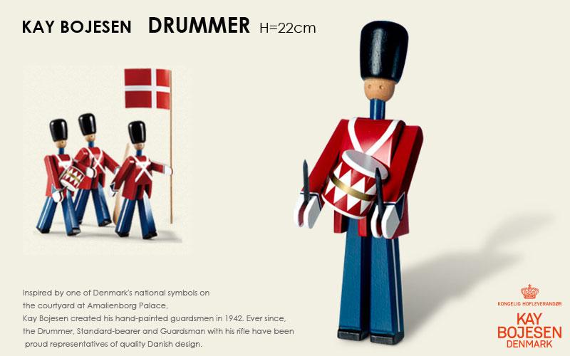 DRUMMER,衛兵,太鼓持ち,Kay Bojesen,カイ・ボイスン,木製オブジェ ,デンマーク,北欧,北欧雑貨,北欧インテリア,北欧ギフト