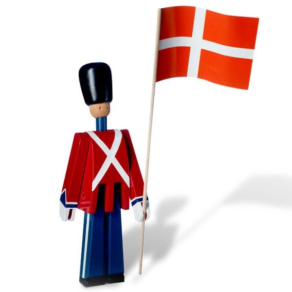 衛兵,旗持ち