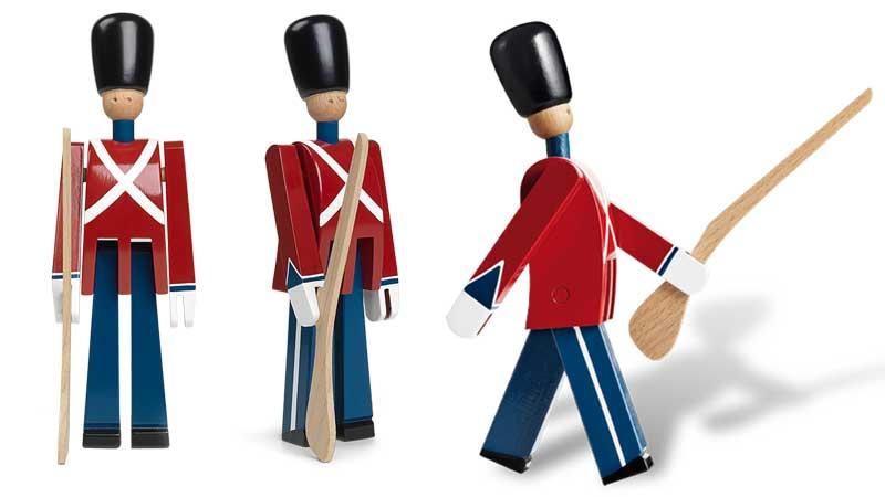 銃持ち,衛兵,Kay Bojesen,カイ・ボイスン,木製オブジェ ,デンマーク,北欧,北欧雑貨,北欧インテリア,北欧ギフト
