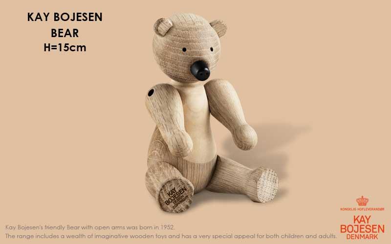 クマ,ベアー,bear,Kay Bojesen,カイ・ボイスン,木製オブジェ ,デンマーク,北欧,北欧雑貨,北欧インテリア,北欧ギフト