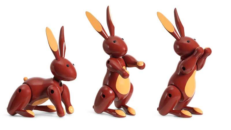 rabbit,ラビット,ウサギ,Kay Bojesen,カイ・ボイスン,木製オブジェ ,デンマーク,北欧,北欧雑貨,北欧インテリア,北欧ギフト