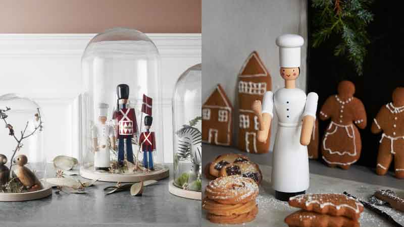COOK GIRL(クックガール),Kay Bojesen,カイ・ボイスン,木製オブジェ ,デンマーク,北欧,北欧雑貨,北欧インテリア,北欧ギフト