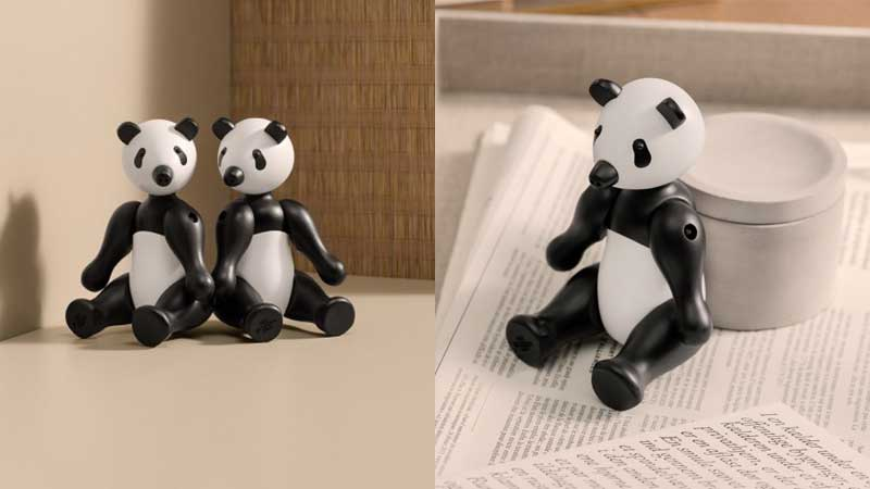 panda bear,パンダ,Kay Bojesen,カイ・ボイスン,木製オブジェ ,デンマーク,北欧,北欧雑貨,北欧インテリア,北欧ギフト