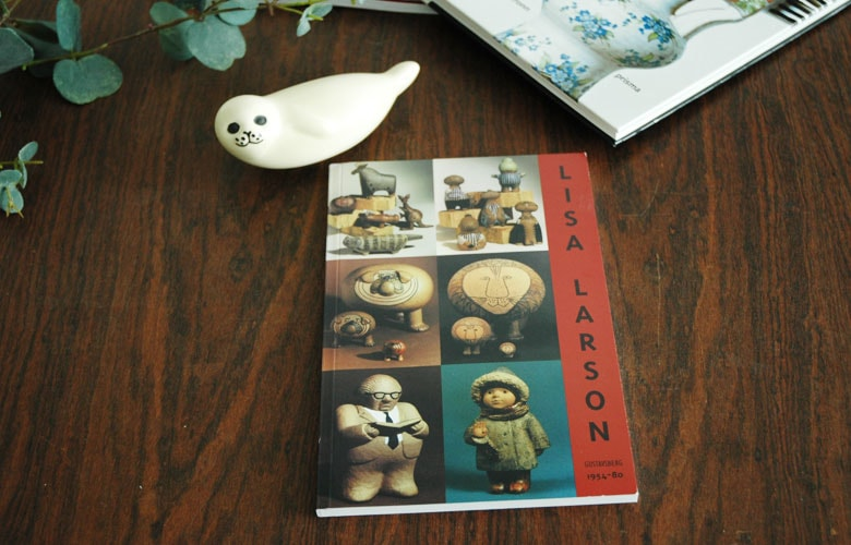 LISA LARSON GUSTAVSBERG モノクロ版,作品集,リサラーソン,北欧,オブジェ,置物,北欧雑貨,北欧インテリア