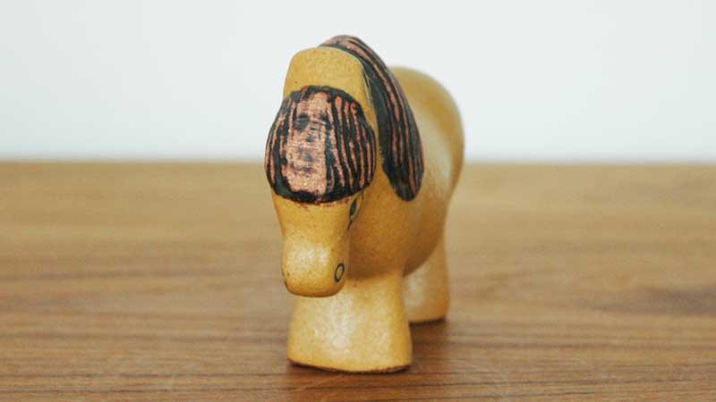 Ponny,ポニー顔のアップ,Lisa Larson,リサ・ラーソン,LILLSKANSEN,スカンセン動物園