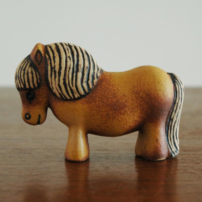 Lisa Larson(リサ・ラーソン),ponny,ポニー,LILLSKANSEN/スカンセン動物園