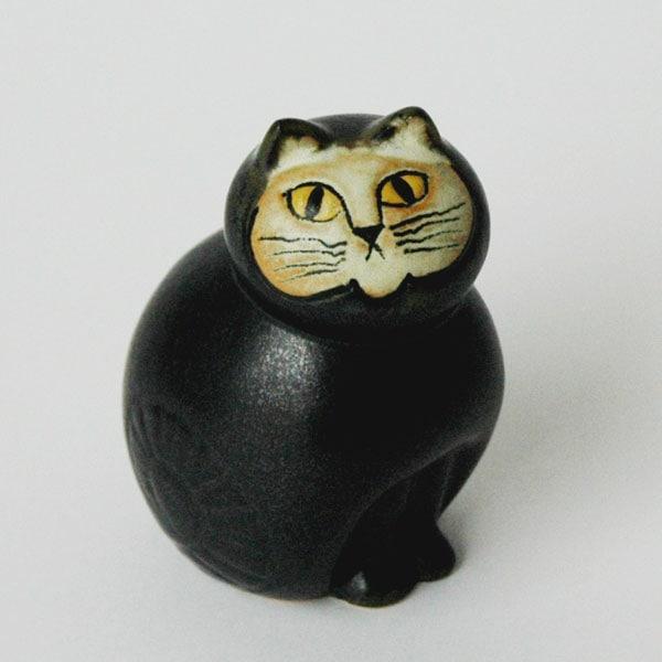 MIA CAT(ミア・キャット)ブラック,Lisa Larson,リサラーソン,リサラーション,北欧,スウェーデン,オブジェ,置物,北欧雑貨,北欧インテリア
