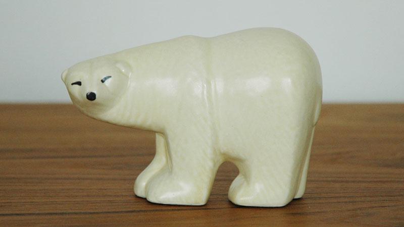Lisa Larson(リサ・ラーソン),Polar Bear(シロクマ),LILLSKANSEN/スカンセン動物園